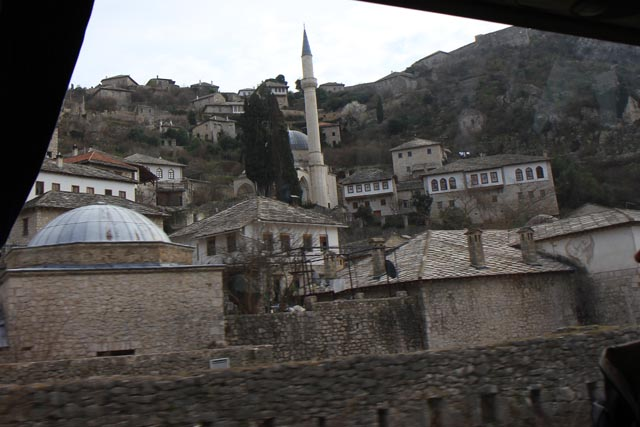 ネウム先のモスク(a Mosque at the outside of Neum)