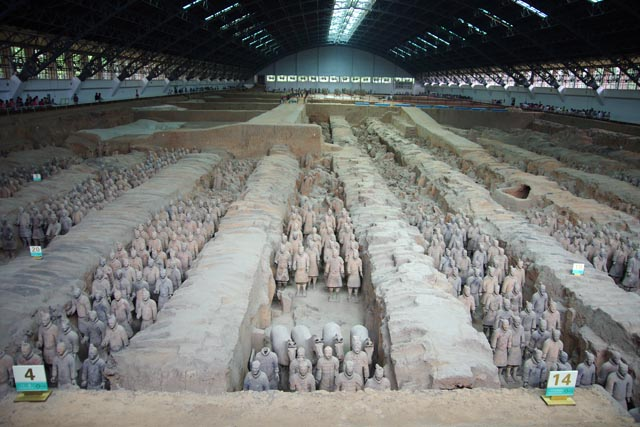 秦始皇帝陵及び兵馬俑坑(Mausoleum of the First Qin Emperor)